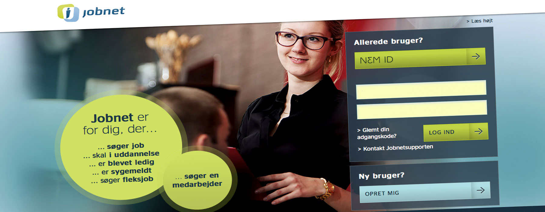 Jobnet.dk - læs mere om Jobnet her