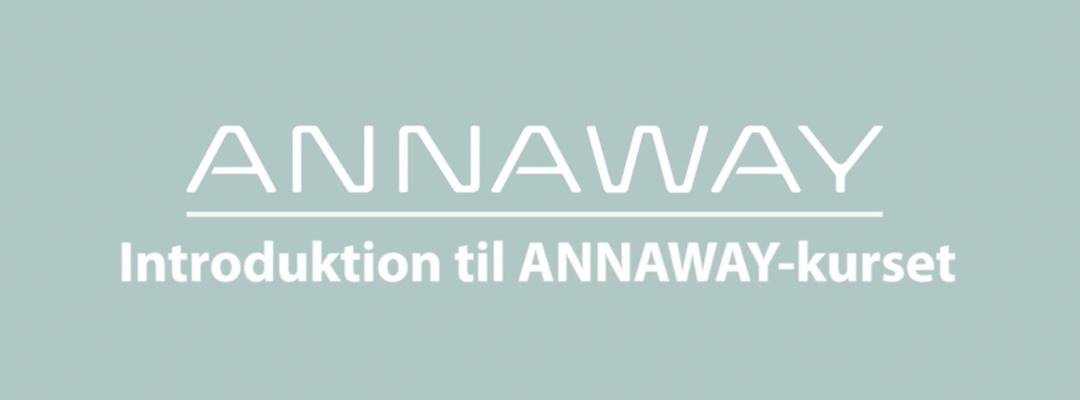 Gratis ANNAWAY kursus med Jobindex